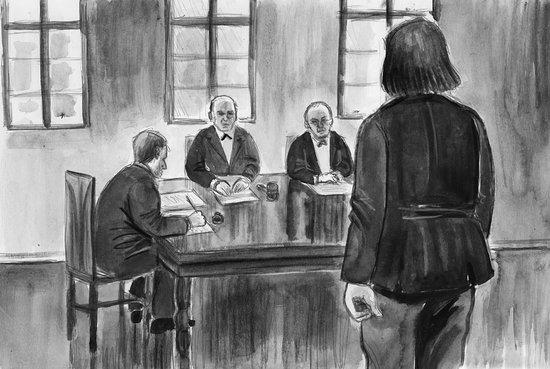 Rättegången i Kvibille.
