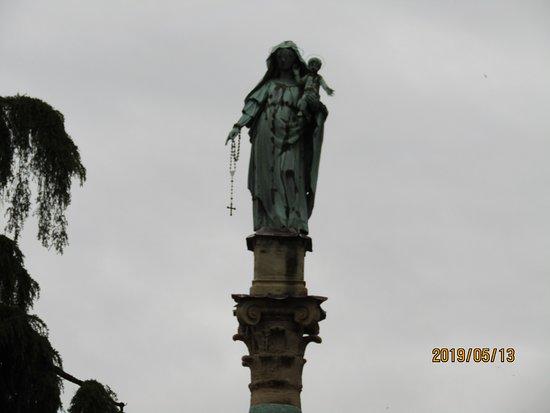 Colonna da Beata Vergine del Rosario