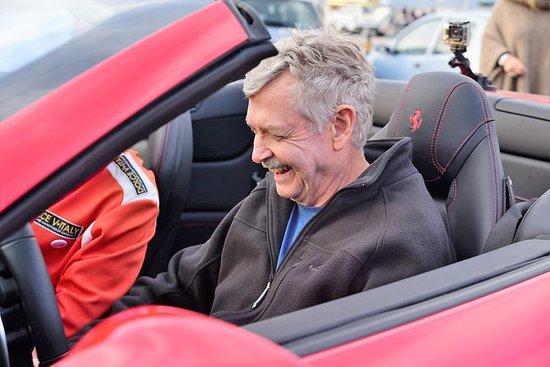 Essai de conduite d'une Ferrari à...