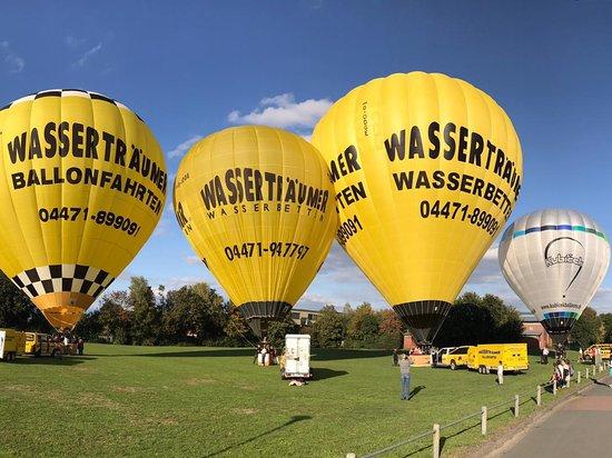 Die Wasserträumer Ballon in Emstek.
