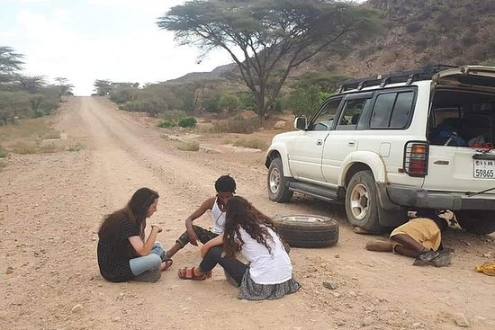 6日間の南オモ渓谷エチオピア