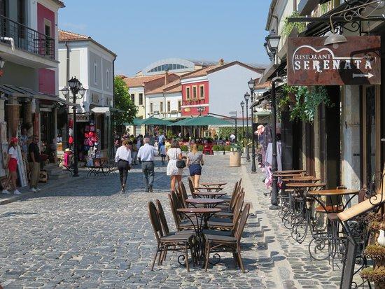 Korca Old Bazaar