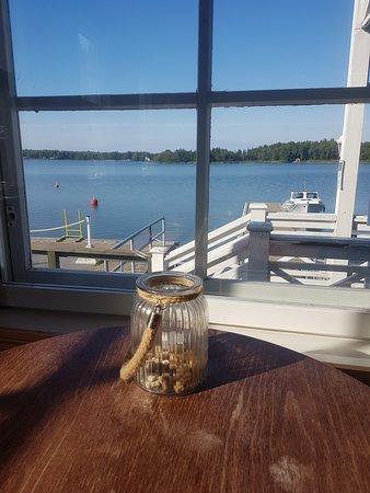 Merikarvia, Finnország: ravintola sijaitsee aivan meren äärellä