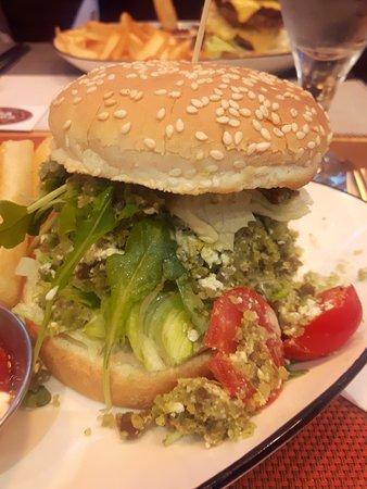 Burger falafel, original et savoureux !