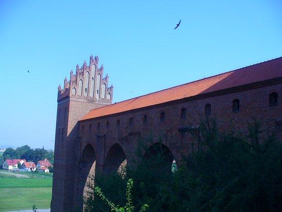 Latryna zamku w Kwidzyniu.