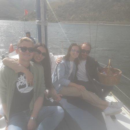 Folgosa, Portugal: Sailboat tour on Douro river!