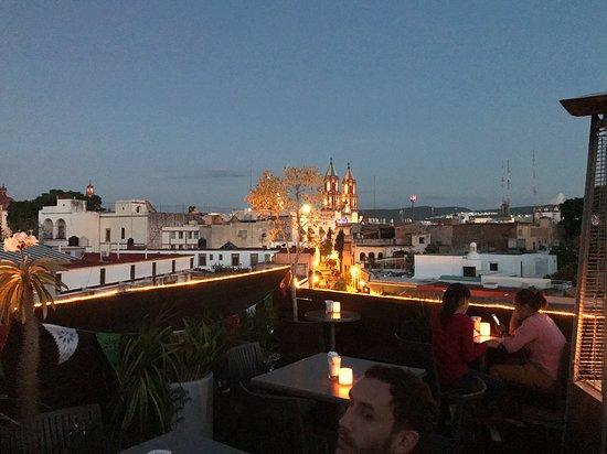 View From The Restaurant Picture Of Terraza La Grupa