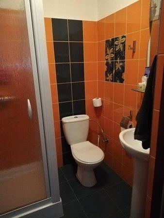 Stare Babice, Polska: The bathroom