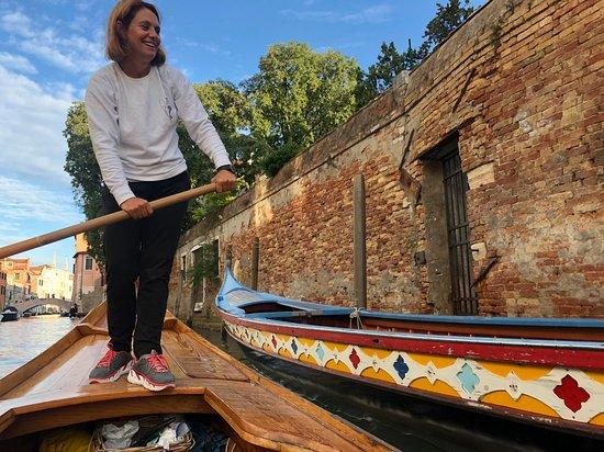 Venetian Rowing Lesson Photo