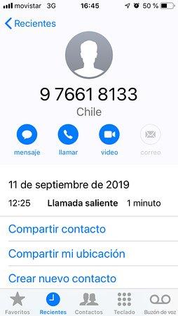 Observatorio Andino Chakana: Llamada a Jorge Triviño consultando por hora de inicio de observación del día 11 de Septiembre de 2019