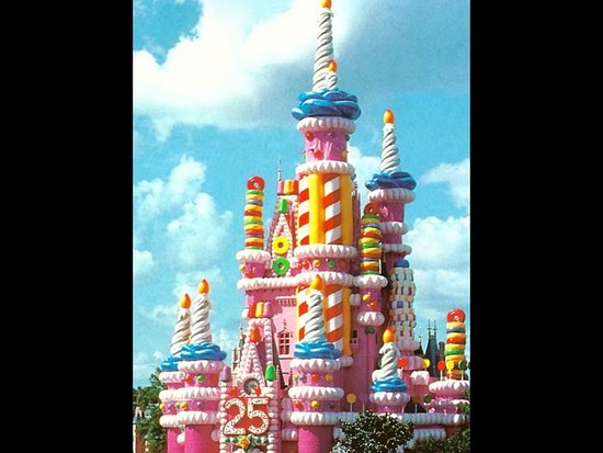 Miraculous 25Th Birthday Cake Picture Of Cinderella Castle Orlando Funny Birthday Cards Online Fluifree Goldxyz
