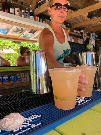 Eco-friendly and Biodegrdable PLA cups at the Tiki Bar !!!