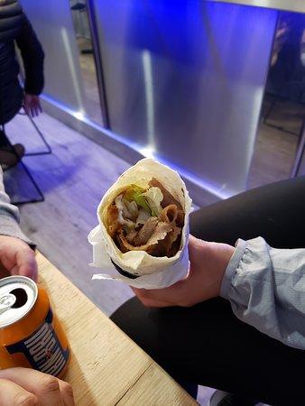 Mixed Chicken & Lamb Kebab Wrap