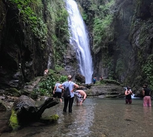 Eldorado: Cachoeira Queda do Meu Deus, 53 metros em Queda Livre, essa é a última Cachoeira de uma Trilha com outras 11 Cachoeiras