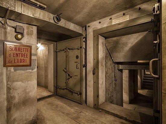 WWII Bunker Under Gare de l'Est
