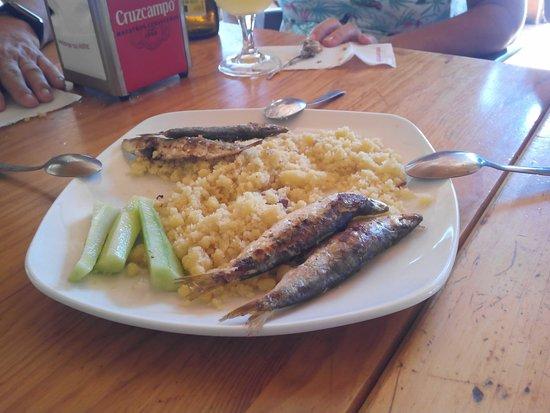 Lujar, Spanje: Restaurante Lecrin