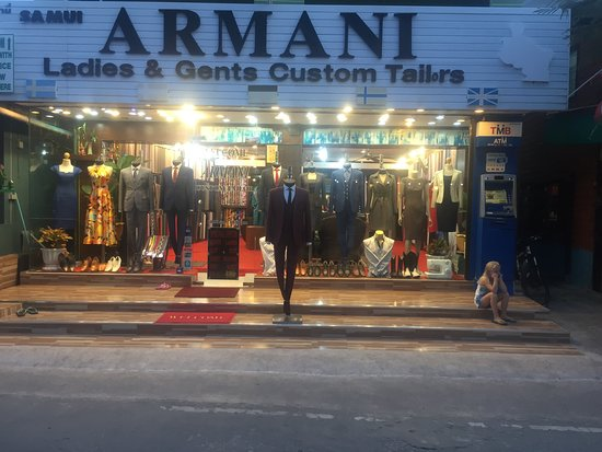 Samui  Armani Suits