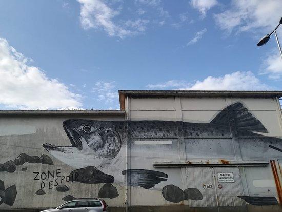 "Fresque ""Zone espoir"""