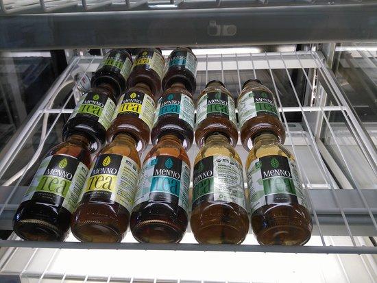 Mountain Lake, MN: Menno Tea available at Sweet Fields.