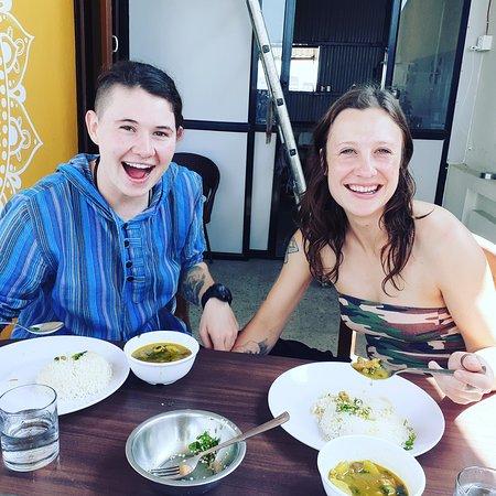 Two australia having lunch at rooftop of @ramblers_hostel  Your happiness is our happiness too.  #hostellife #hostel #hostelworld #travel #backpacker #travelgram #travelphotography #backpackers #boutiquehostel #backpacking #flashpacker #travelblogger #lonelyplanet #hostelgeeks #cooking #solotravel #meettheworld #traveling #nepalisbeautiful #boutiquehostels #backpackerlife #solotraveler #nomad #travelling #hostelinnepal #kathmandu #wanderlust #thamelhostel #ramblerhostel  @agoda @bookingcom