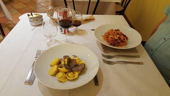 Sehr gute Trattoria in San Marino.