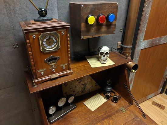 The Secret Laboratory of Dr Prometheus - Actual photo of the room