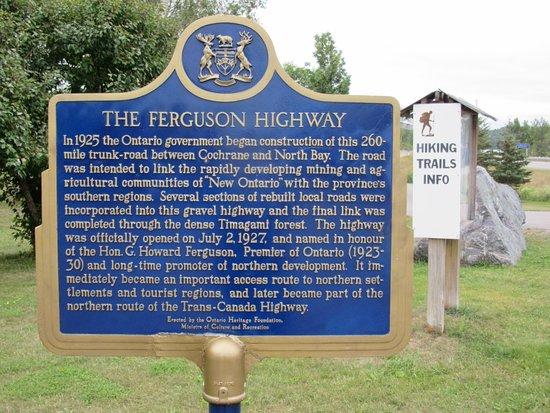 Latchford, Canada: The Ferguson Highway