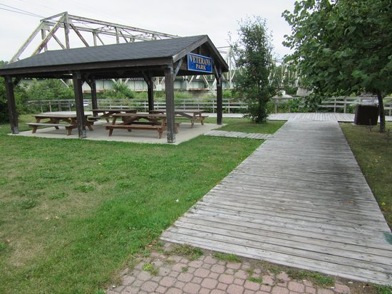 Latchford, Canada: Boardwalk along the Montreal River