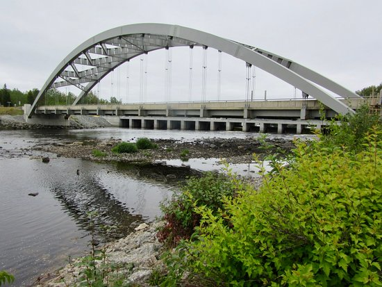 Latchford, Canada: Sgt. Aubrey Cosens Memorial Bridge