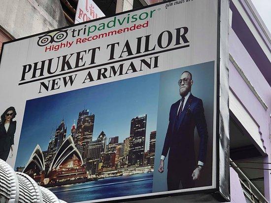 Phuket Tailor New Armani