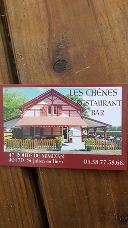 Bar Restaurant Les Chenes