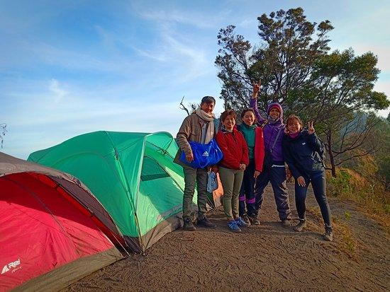 Bromo Tengger Semeru National Park, Indonesië: Bromo camping package
