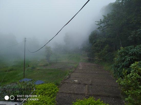 Jeolikote, India: Beautiful touch of nature.