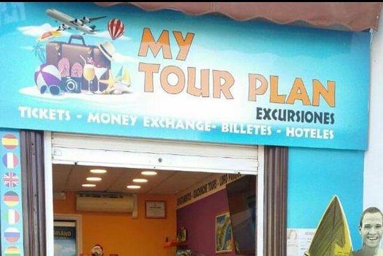My tour plan