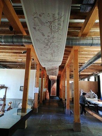 Salle des métiers du textile