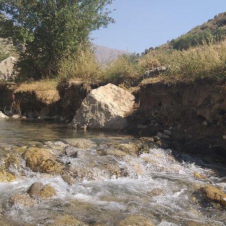 Dena mountain with beautiful waterfall near yasuj  25 kilometre to yasuj with great weather