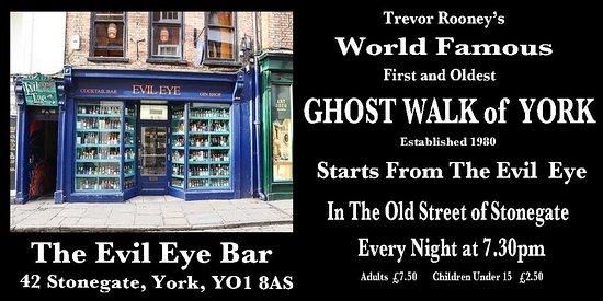 Trevor Rooney's World Famous Ghost Walk of York