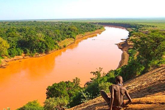 Turmi, Etiopie: Omo river