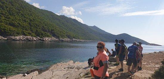 Cycle tour on ship Mlini