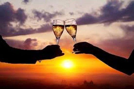 Romantic Sunset Champagne -Private...
