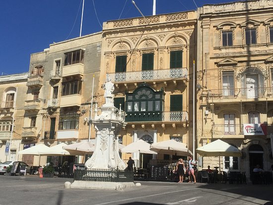 This is a view of the hotel, cafe BeBirgu
