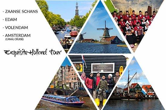 EXQUISITO TOUR POR HOLANDA (Zaanse...