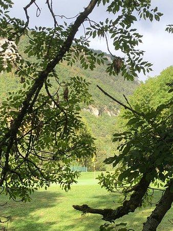 À côté du trou n.15du golf de L C