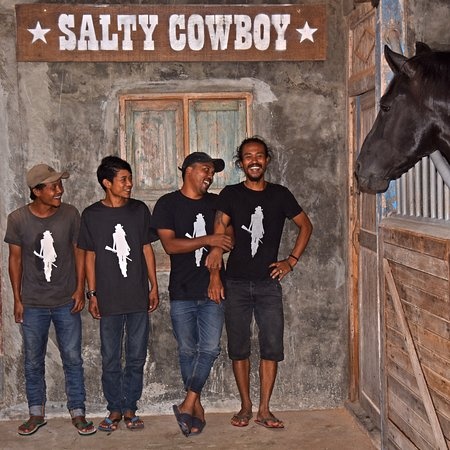 Kedungu, Indonesia: Our Cowboys are ready to take you for a ride 🤠🐴
