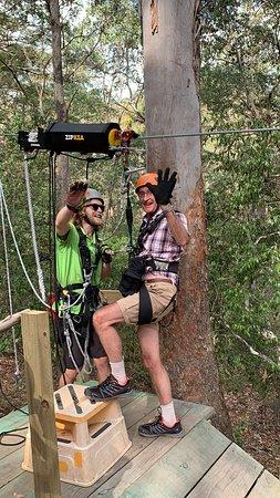 Снимок Gold Coast Canyon Flyer Zipline Tour