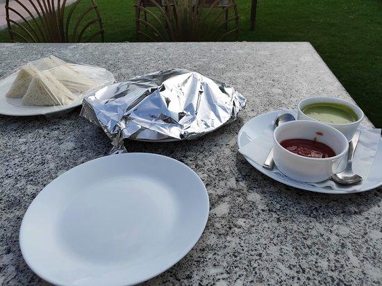 Rajasthali Resort and Spa: high tea