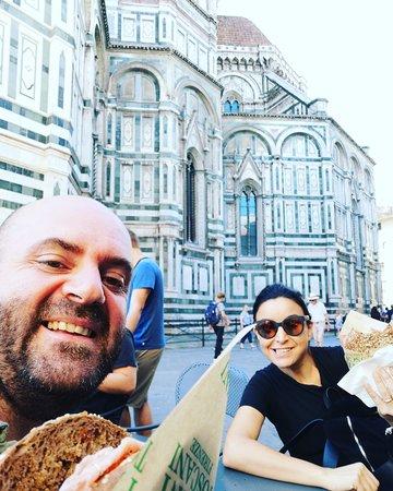 Panino con vista Duomo