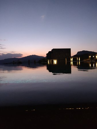 Vue de la piscine principale