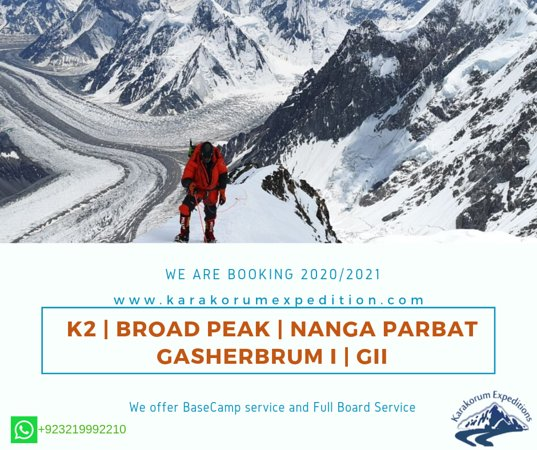 Islamabad Capital Territory, ปากีสถาน: Climb your Mountain with the BEST!  Contact us: www.karakorumexpedition.com Email: expeditionskarakorum@gmail.com info@karakorumexpedition.com WhatsApp: +92321 9992210