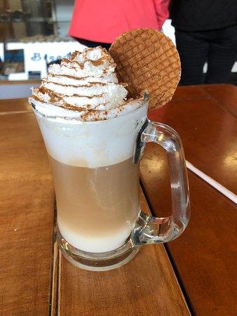 Caramel Cookie Waffle Foto